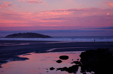 Sunset Surf by rcurcuru