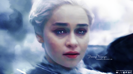 Daenerys Targaryen - Death is the Enemy by Freedom4Arts