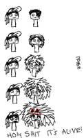 Bill's Hair O_O by Shaiza7