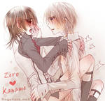 Zero x Kaname - hold you in my arms by Sagakure