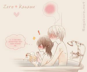 CoB bathtub scene - Zero x Kaname by Sagakure