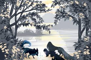 { twwm } waterways : the frost path - palette 03 by moondustedmonday