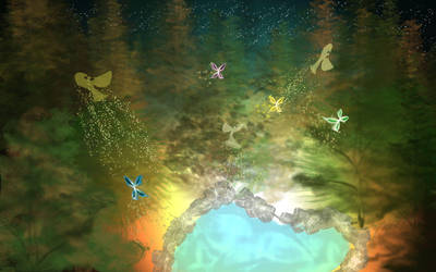 Midsummer Fantasy... by KagomeYuy