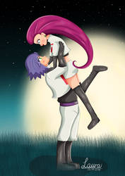 Team Rocket Jessie X James by DeerCrowShadow