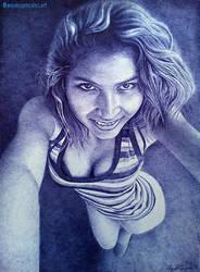Flaca by AnyeloGonzalez