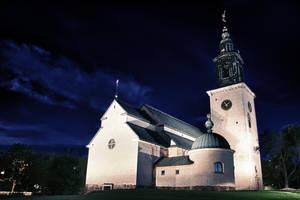 The Church Of Staffan by Krisum