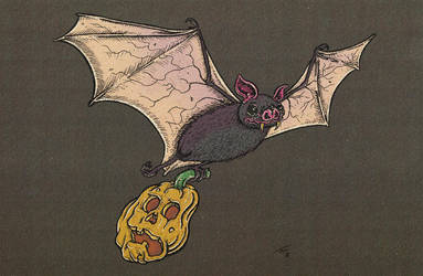 Bat-o-Lantern by recipeforhaight