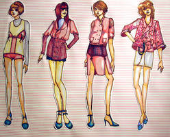 Fashion Illustration by carnivval
