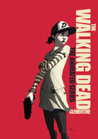 Walking Dead: The Animated Series 'Clementine' by CoolSurface