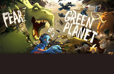 Fear Of a Green Planet by CoolSurface