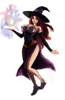 Dragons crown sorceress by Crowtex-lv
