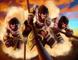 Wukong LoL by Crowtex-lv