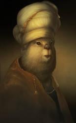 Beaver in turban by yirikus
