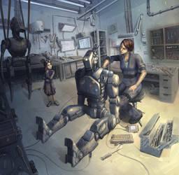 Robot workshop by yirikus