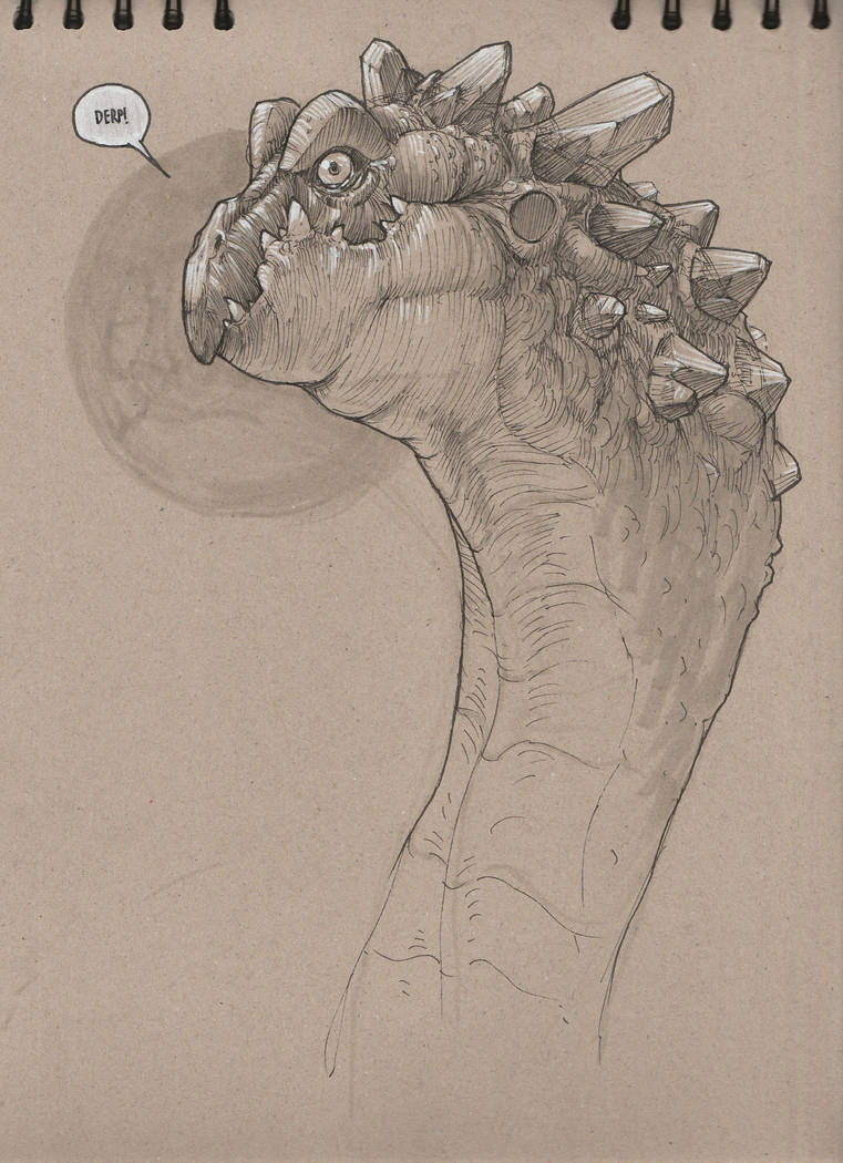 Derpy Dragon by yirikus