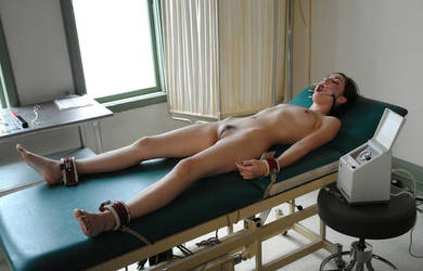 Female Student Strapped Down in the Campus Clinic by sgtrock75