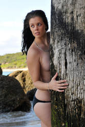 Stacey - behind the pier 2 by wildplaces