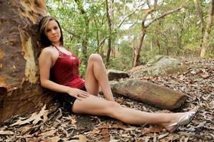 Lauren - red top 4 by wildplaces