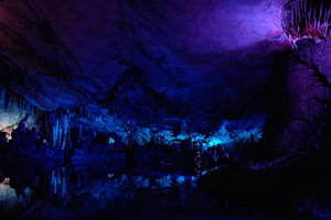 Reed Flute Cave, China - 1 by wildplaces