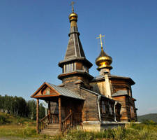 Old Believers Church, Zlatoust 3 by wildplaces