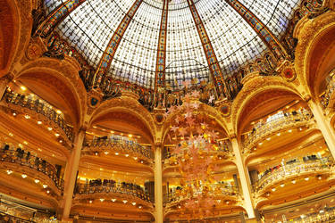 Galeries Lafayette dome 1 by wildplaces