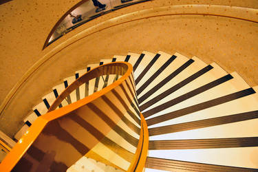 Galeries Lafayette staircase 1 by wildplaces