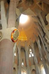 La Sagrada Familia interior 4 by wildplaces