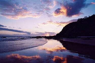 Sunrise at Cape Byron 1 by wildplaces