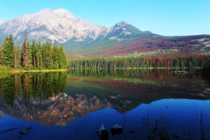 Pyramid Lake 3 - Canadian Rockies by wildplaces