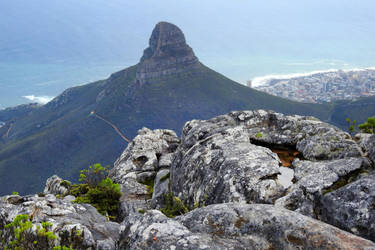 View from Table Mountain 1 - South Africa by wildplaces