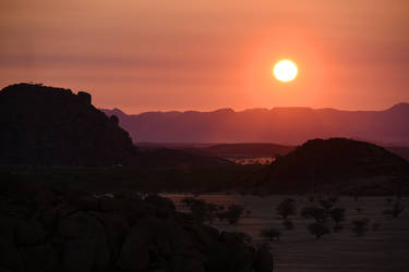 Damaraland sunset 3 by wildplaces