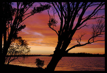 Hastings River sunset 2 by wildplaces