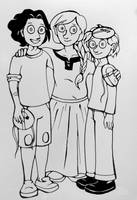 Inktober #20: Family by pinearts