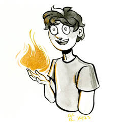 Inktober #18 by pinearts
