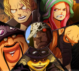 ER: Triunfar o morir // One Piece Ch908 by goldenhans