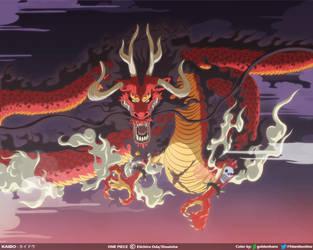 Kaido el de las Bestias // One Piece Ch921 by goldenhans