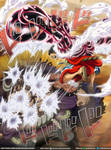 Gomu gomun no... KONG ORGAN // One Piece Ch923 by goldenhans