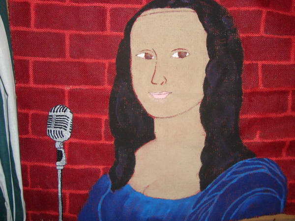 Monalisa the Comedian by Badbrowneyes