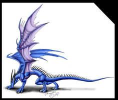 Dragon q by Theerya