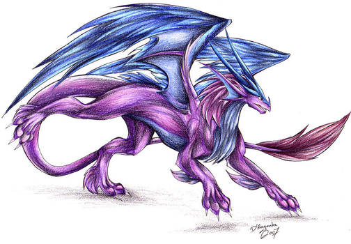 Furry Dragon by Theerya