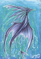 Sea Serpent by Theerya