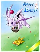 Happy Easter by Theerya