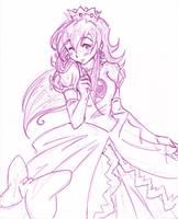 Princess Peach by Nico--Neko