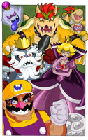 Super Mario Bros - Memories of Villains by Nico--Neko