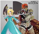 Super Smash Bros Ultimate - Rosalina and Ganondorf by Nico--Neko