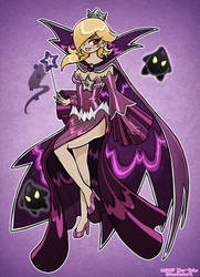 Shadow Queen Rosalina by Nico--Neko