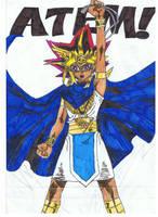 Atem from Yu-Gi-Oh! by haloanime97