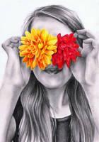 Flower Girl by haloanime97