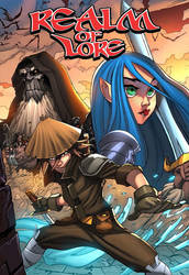 Realm of Lore cover issue 1 by WillCaligan1