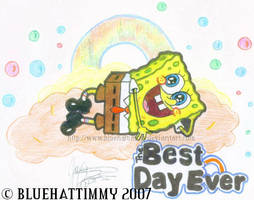 SpongeBob - The Best Day Ever by BlueHatTimmy